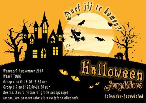 Flyer jeugddisco 1-11-2019